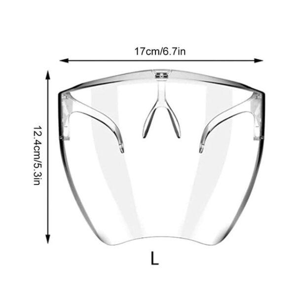 Μονοκόμματο διαφανές προστατευτικό πιάτο Unisex Anti spray προστατευτικό πιάτο για ξενοδοχεία ξενοδοχείων