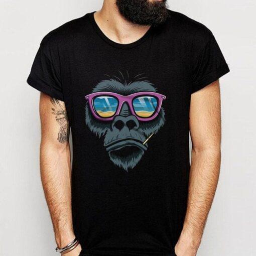 고릴라 블랙 라운드 넥, 고릴라 블랙 라운드 넥 티셔츠