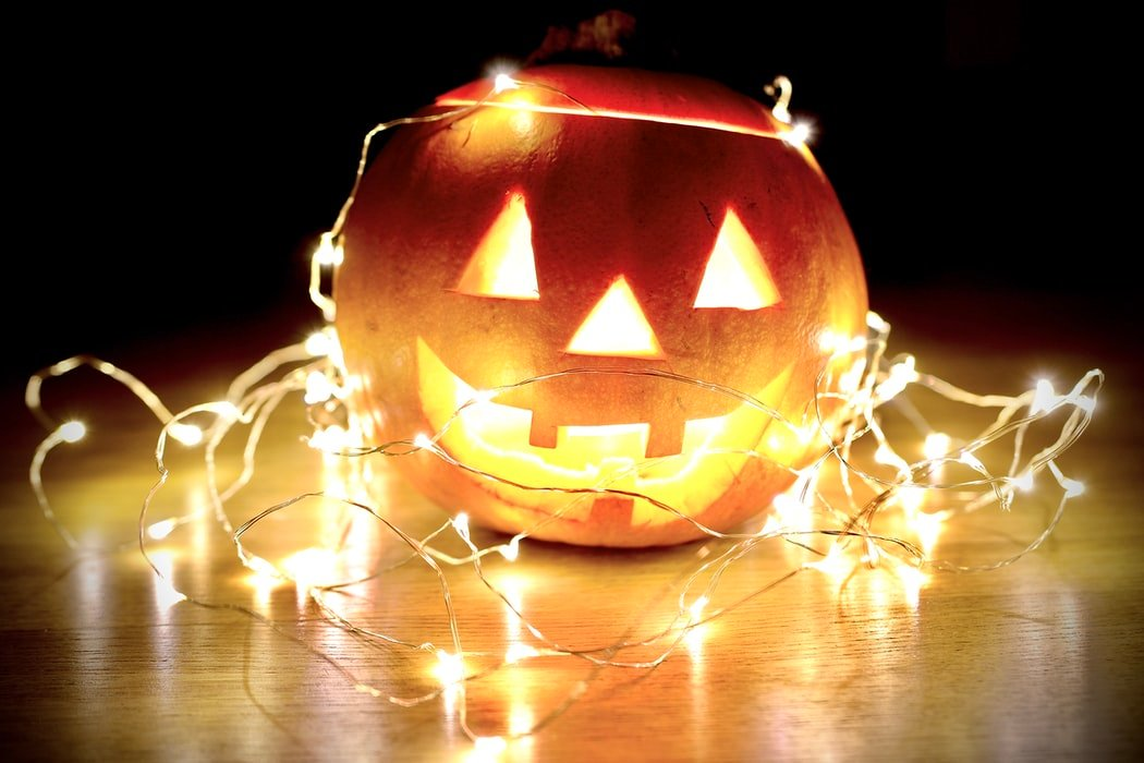 tapeta krajobrazowa duch halloween