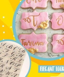 DIY Cake Alphabet Stamp, DIY Cake Alphabet Stamp Set