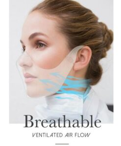 Transparent Durable Face Mask, Transparent Durable Face Mask