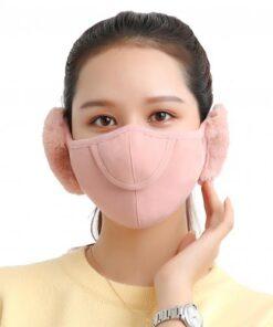 Men Women Winter Two in one Earmuffs Warm Mask Dust proof Cold proof Riding Ear Muff 1.jpg 640x640 1