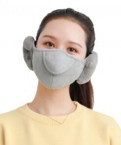 Men Women Winter Two in one Earmuffs Warm Mask Dust proof Cold proof Riding Ear Muff 2.jpg 640x640 2