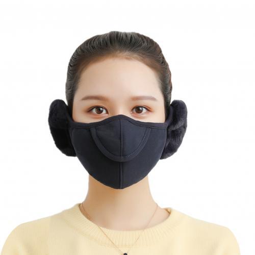 Men Women Winter Two in one Earmuffs Warm Mask Dust proof Cold proof Riding Ear Muff 3.jpg 640x640 3