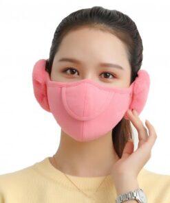 Men Women Winter Two in one Earmuffs Warm Mask Dust proof Cold proof Riding Ear Muff 4.jpg 640x640 4