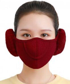 Men Women Winter Two in one Earmuffs Warm Mask Dust proof Cold proof Riding Ear Muff 5.jpg 640x640 5