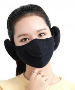 Men Women Winter Two in one Earmuffs Warm Mask Dust proof Cold proof Riding Ear Muff.jpg 640x640