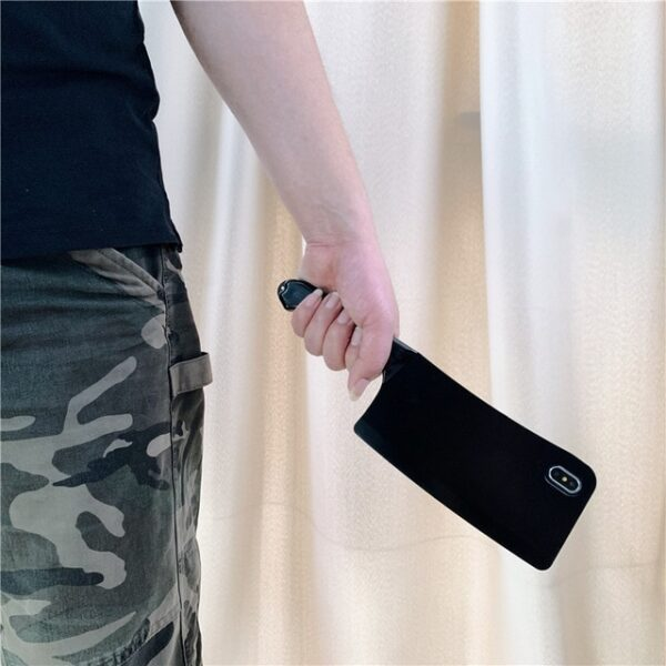 3D Kitchen knife Phone Case For iPhone 11 11 Pro MAX 8 7 6 6S