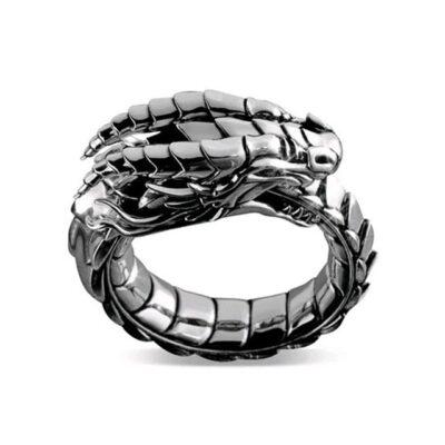 Silver Color Simulation Dragon Steampunk Ring For Wedding Party Gift Romantic Hi Hop Zinc Alloy Vintage.jpg 640x640