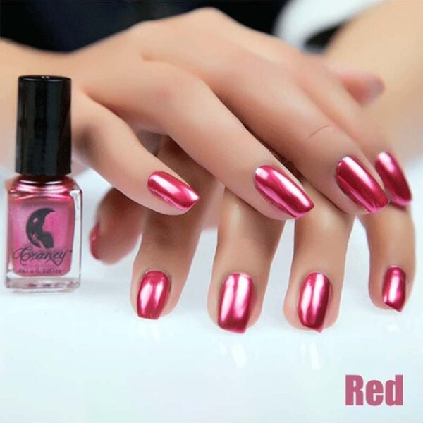 Fashion Mirror Nail Polish Silver Transparent Purple Rose Gold Color 6ML Long Lasting Nail Polish Girl 11.jpg 640x640 11
