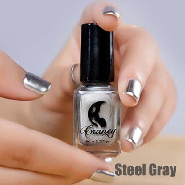 Fashion Mirror Nail Polish Silver Transparent Purple Rose Gold Color 6ML Long Lasting Nail Polish Girl 12.jpg 640x640 12