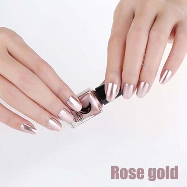 Fashion Mirror Nail Polish Silver Transparent Purple Rose Gold Color 6ML Long Lasting Nail Polish Girl 7.jpg 640x640 7