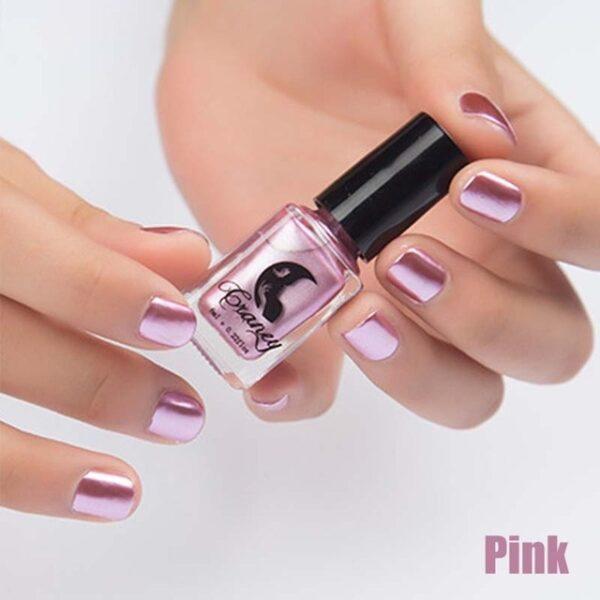 Fashion Mirror Nail Polish Silver Transparent Purple Rose Gold Color 6ML Long Lasting Nail Polish Girl 9.jpg 640x640 9