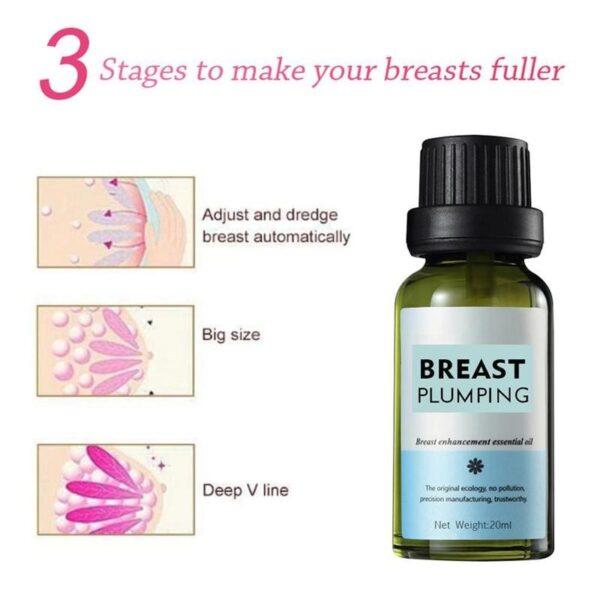 20ml Papaya Breast Enlargement Essential Plant Oli Dada Plump Care Essence Boobs Angkat Bust Up Kulit 2