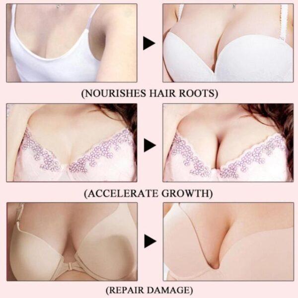 20ml Papaya Breast Enlargement Essential Plant Oli Dada Plump Care Essence Boobs Angkat Bust Up Kulit 4