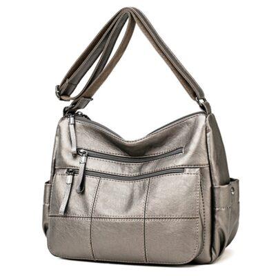 Hot Soft Leather Bolsa Luxury Ladies Hand Bags Female Crossbody Bags for Women Shoulder Messenger Bags