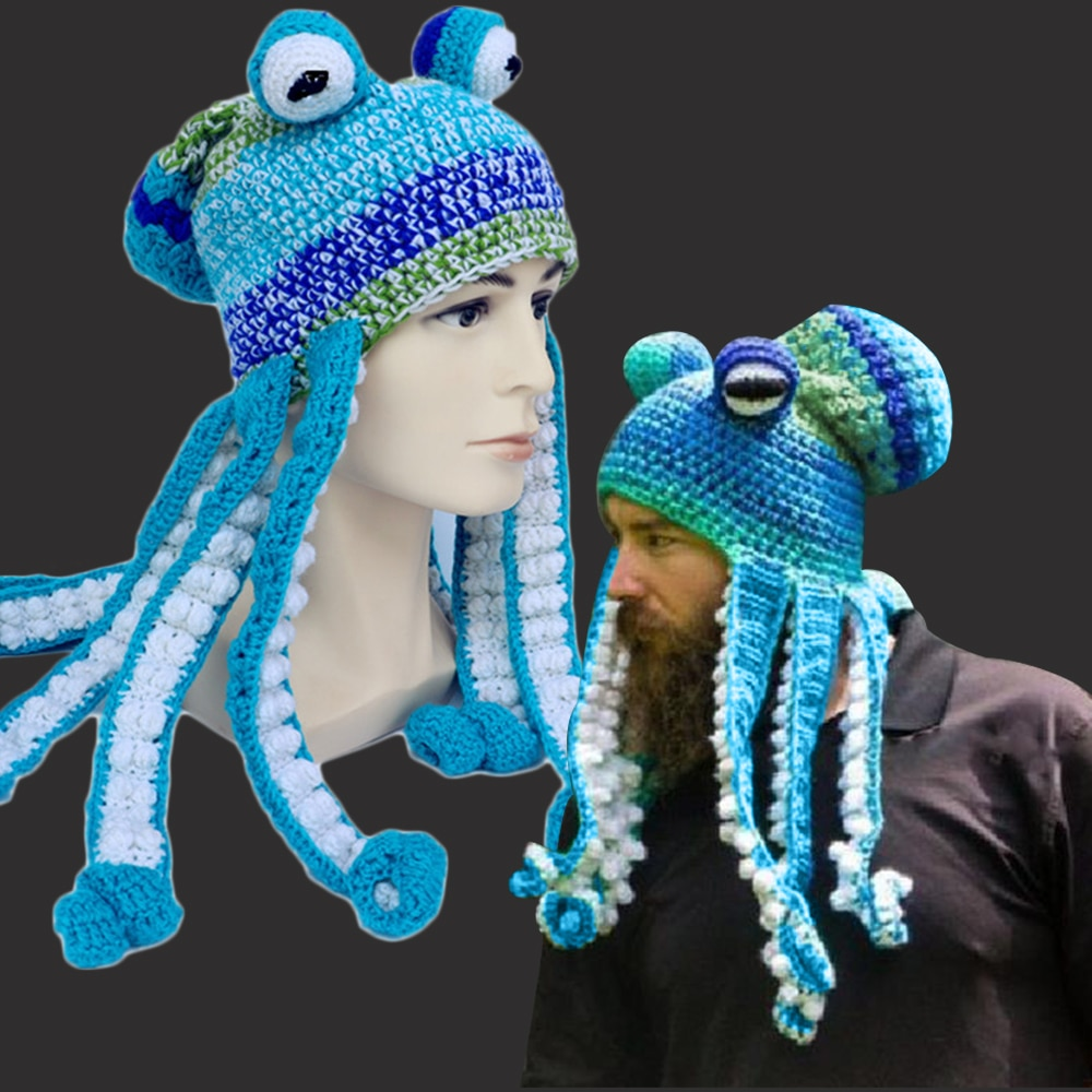 adult octopus hat Octopus hat lifelike octopus hat with tentacles
