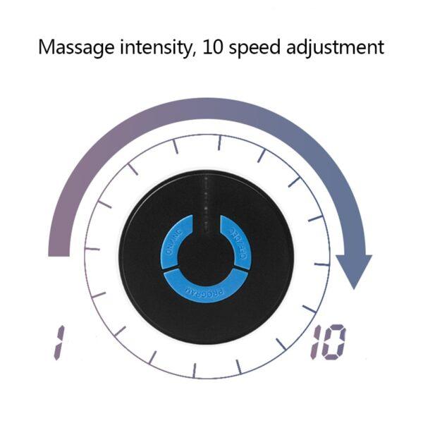 Bagong Portable Mini Electric Leeg Cervical Massager Stimulator Bumalik sa Paha ng Masahe Sakit na Pagpapaginhawa Massage Patch Matalino 1