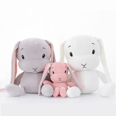 50CM 30CM Cute rabbit plush toys Bunny Stuffed Plush Animal Baby Toys doll baby accompany sleep