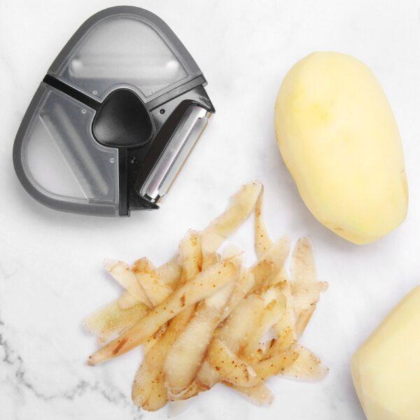 Premium Swivel 1PCS 3 In 1 Peeler Kitchen Planer Peeling Apple Peeler 3 In1 Stainless Steel 1