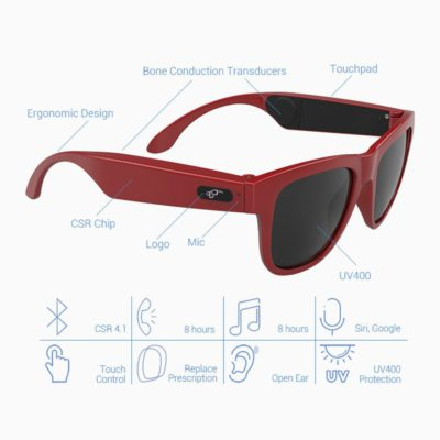 BGreen Bone Conduction Bluetooth Smart Sport Sunglasses Wireless Stereo Music Sunglasses Sports Headset Headphone 2 400x400 1