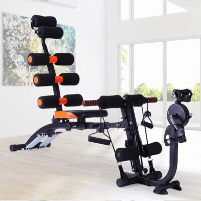 Multifunctional Sit Up Aid Fitness Equipment Home Supine Plank Abdomen Machine Exercise Abdominal Muscles 6 In 2