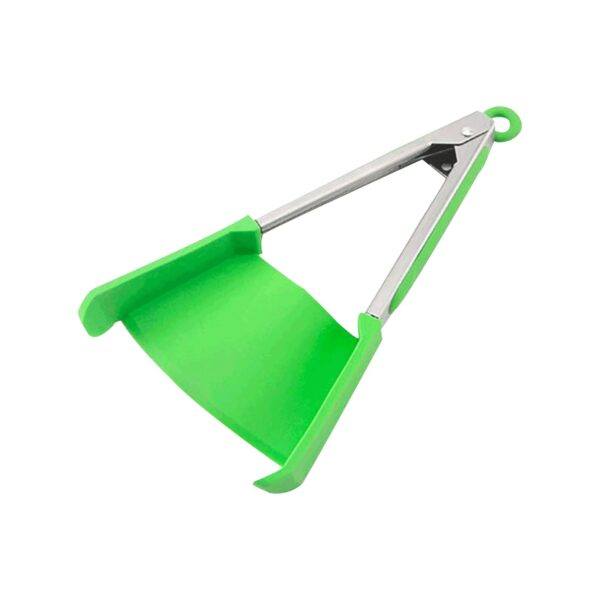 Fashion 2 in 1 Kitchen Spatula And Tongs Smart Clip Siamese Food Clip Multifunctional Silicone Clip 1