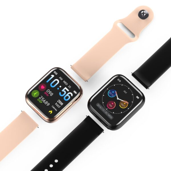 X5 smart watch TWS Bluetooth headset 2 in 1 HIFI music watch heart rate blood pressure 2