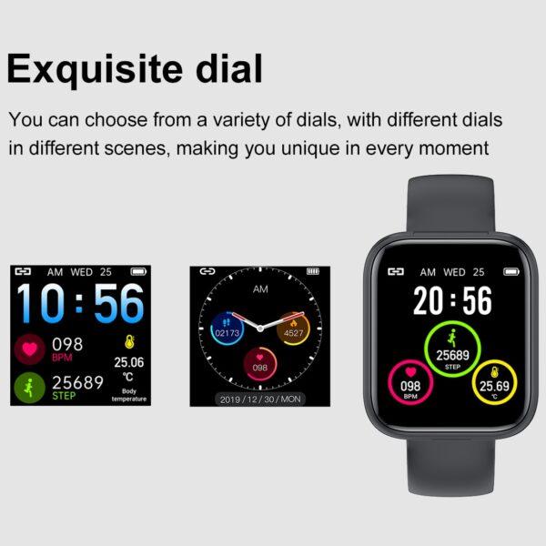 X5 smart watch TWS Bluetooth headset 2 in 1 HIFI music watch heart rate blood pressure 5