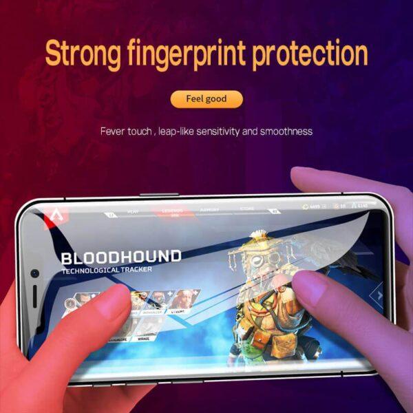 Mlinzi wa Skrini ya Faragha ya 4D Kwa iPhone 12 11 Pro Max XS MAX XR Anti spy spy Peep 2