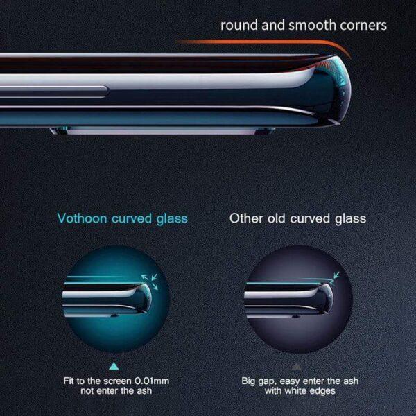 Mlinzi wa Skrini ya Faragha ya 4D Kwa iPhone 12 11 Pro Max XS MAX XR Anti spy spy Peep 5