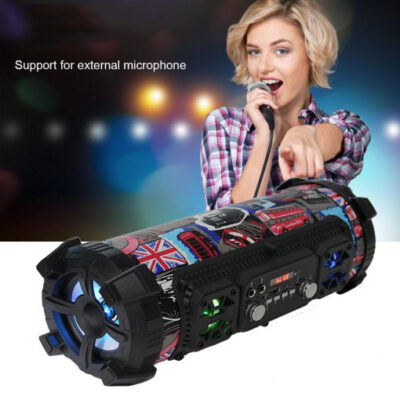 Hifi Portable Bluetooth Speaker FM Radio Move KTV 3D Sound Unit Wireless Surround TV Sound bar 3 510x510 1