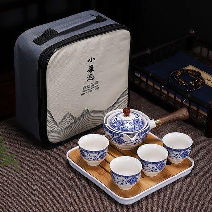 Palesa e Ikemetseng e Phethahetseng Chaena Gongfu Kung Fu Tea Set Ceramic Teapot W Wooden Handle Side handle 5.jpg 640x640 5