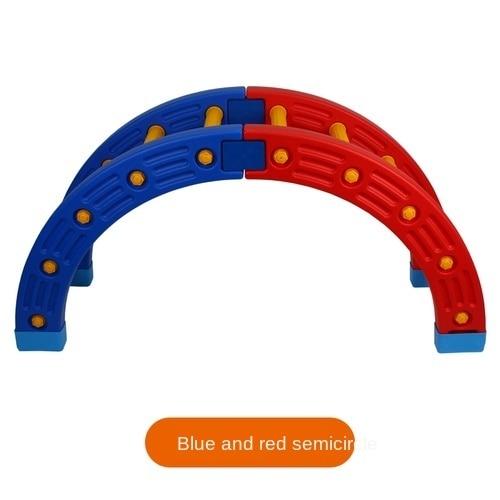 TT Kindergarten Niños s Aptitud física Equipo de entrenamiento sensorial Cuarto de ronda Padres e hijos Jardín Madera Surf 2.jpg 640x640 2