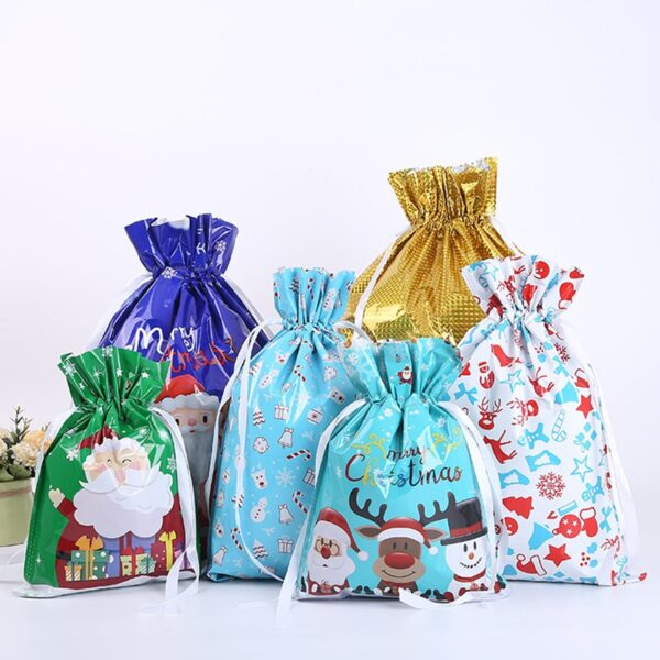 2022 оны 1 -р сарын Христийн Мэндэлсний Баярын бэлэгний цүнх Зул сарын баярын зориулалттай шинэ жилийн бэлэгний уут Лазер хэвлэх