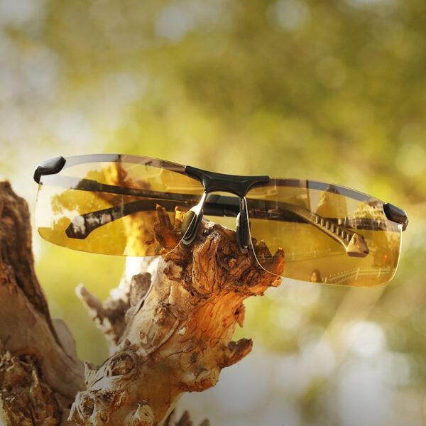 CAPONI Dare Vision Gilashin tabarau Polarized Photochromic Sun Gilashin Ga Maza Oculos Yellow Tuki Gilashin gafas de 1 1