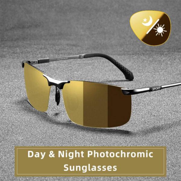 CAPONI Dare Vision Gilashin tabarau Polarized Photochromic Sun Gilashin Ga Maza Oculos Yellow Tuki Gilashin gafas de 800x800 1
