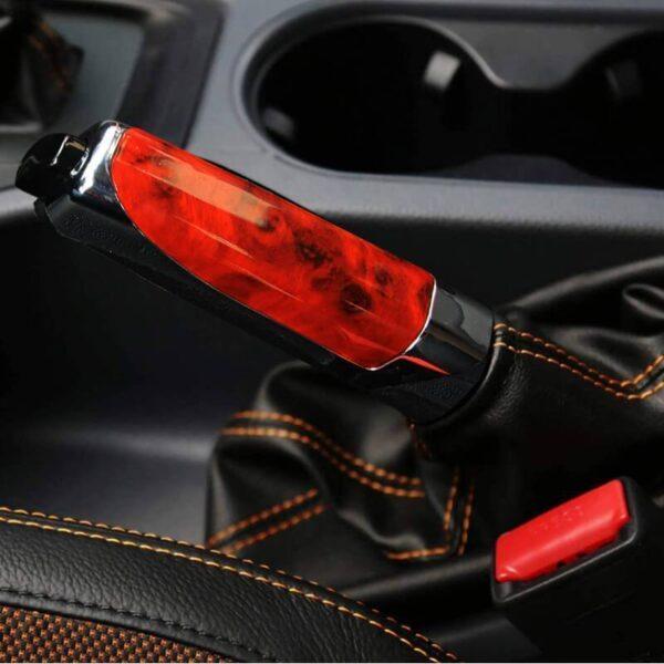 Gari Handbrake Mlinzi Hand Brake Kuweka Universal gari Handbrake Sleeve Silicone Gel Cover Anti Skid Auto 2