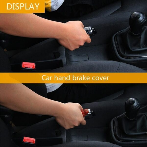 Gari Handbrake Mlinzi Hand Brake Kuweka Universal gari Handbrake Sleeve Silicone Gel Cover Anti Skid Auto 3