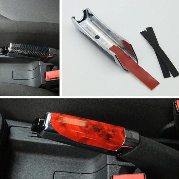 Gari Handbrake Mlinzi Hand Brake Kuweka Universal gari Handbrake Sleeve Silicone Gel Cover Anti Skid Auto 4