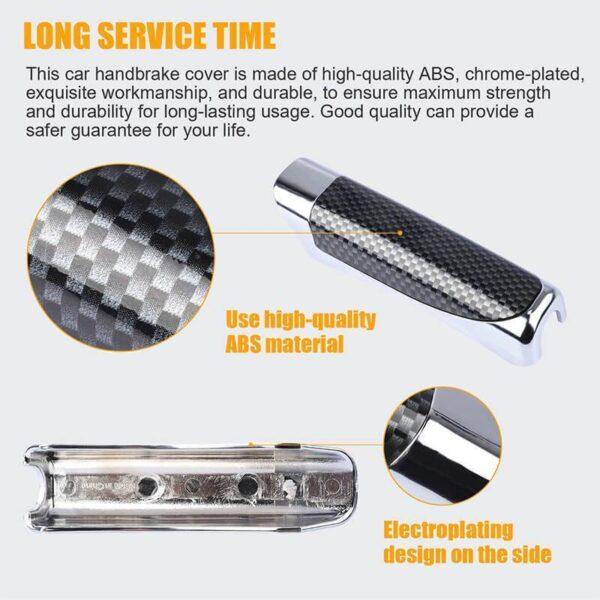 Gari Handbrake Mlinzi Hand Brake Kuweka Universal gari Handbrake Sleeve Silicone Gel Cover Anti Skid Auto 5