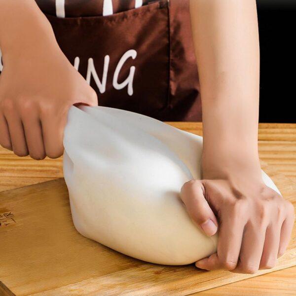 Élelmiszeripari szilikon gyúró tészta táska lisztkeverő szilikon táskák megőrzése Konyhai sütőeszköz Konyhai eszköz 1