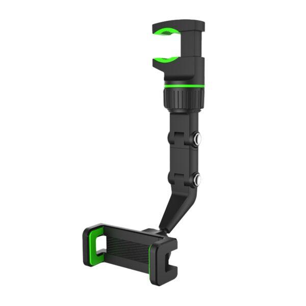 Multifungsi Kaca spion Mount Rotatable Pencegahan Goresan Mobil Panyekel Telepon Bracket Universal Adjustable Vehicle Clip On