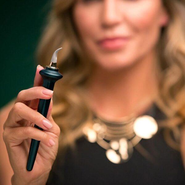 Anyar 1 Set Alat Panungtun Eyeliner Gampang No Skip Eyeliner gél Reusable Silicone Eyeliner Sikat Eyeliner 3