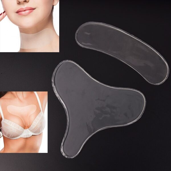 Silicone Transparent Removal Patch Reusable Anti Wrinkle Chest Pad Mukha Skin Care Anti Aging Breast Lifting 1