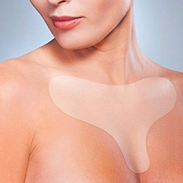Silicone Transparent Removal Patch Reusable Anti Wrinkle Chest Pad Face Skin Care Anti Aging Breast Lifting