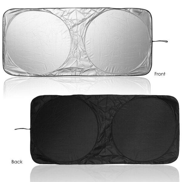 UV Protection Shield Universal Front Rear Car Window Sunshade Sun Shade Visor Windshield Cover Auto Car 1